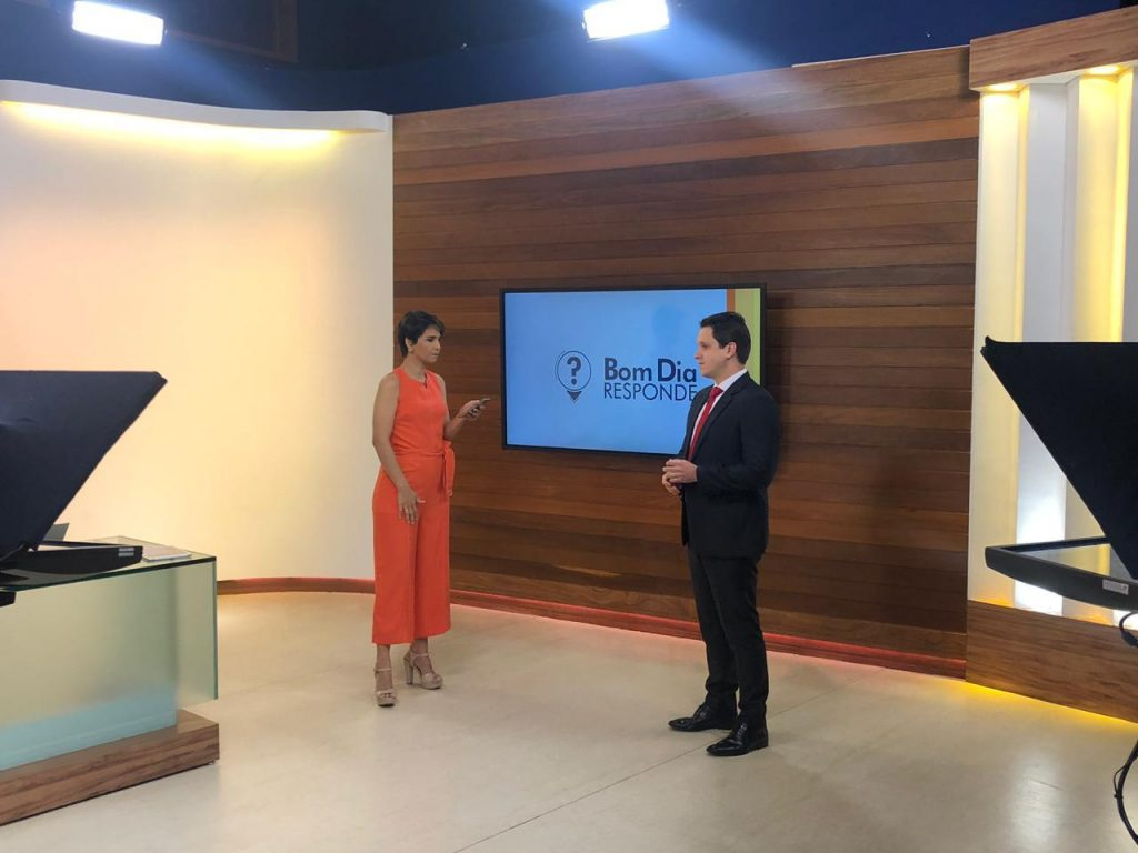"""Em participação no """"Bom Dia Goiás"""", Dr. Murilo Almeida comenta sobre problemas de passar muito tempo sentado"""