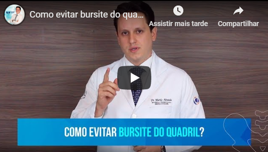 vídeo Tendinites e bursites do quadril